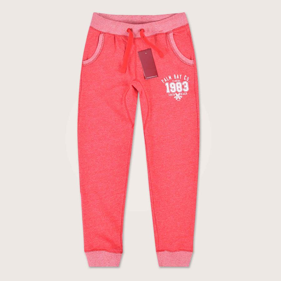 Palm Bay Close Bottom Graphic Jogger - Klashcollection.com