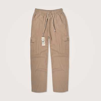 Twill Cotton Smash Cargo Trouser - Klashcollection.com