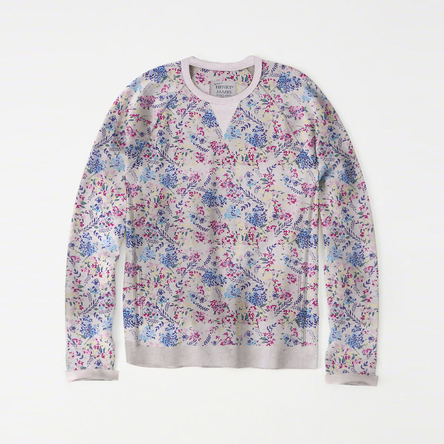 Freya older Girls Crew neck allover Floral printed Sweat Shirt
