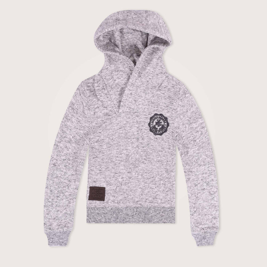 Little Champ Shawl Neck Hoodie - Klashcollection.com