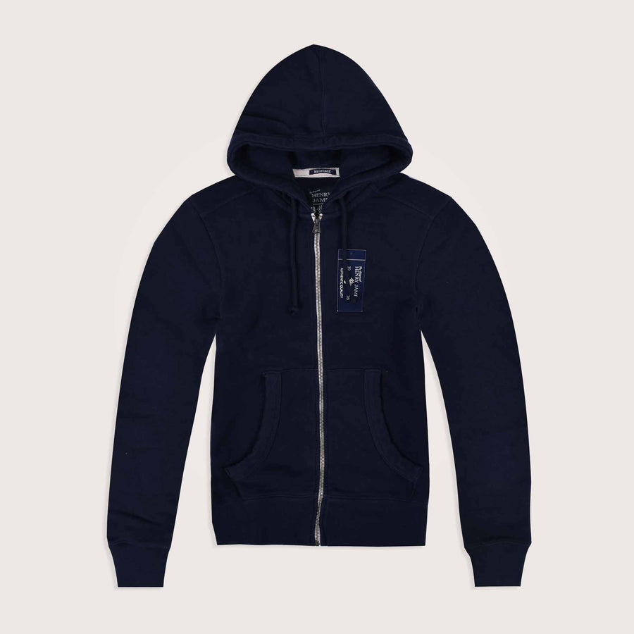 Fletcher Heavyweight Thermal lined Zipper Hoodie - Klashcollection.com
