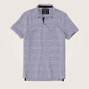Matteo Short Sleeve Textured Jersey Pocket Polo Shirt - Klashcollection.com