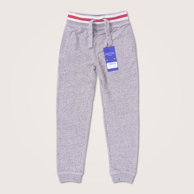 Textured Heavy Weight Ringer Striped Close Bottom slim fit  Jogger
