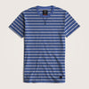 Toby Crew Neck Short Sleeves Striped Tee Shirt - Klashcollection.com