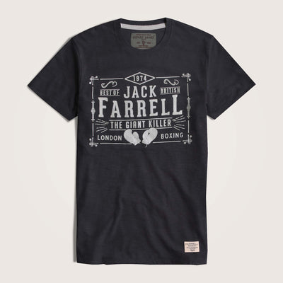 Jack Farrell Slub Yarn Crew Neck Graphic T-Shirt - Klashcollection.com