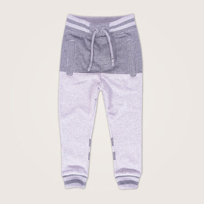 Textured Heavy Weight Block Striped Close Bottom slim fit  Jogger - Klashcollection.com