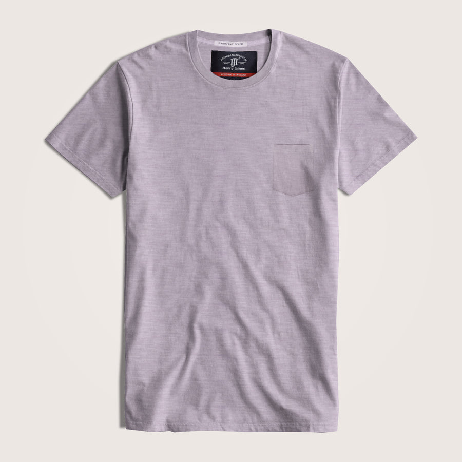 Frederick Short Sleeve Slub Jersey Pocket Tee Shirt - Klashcollection.com