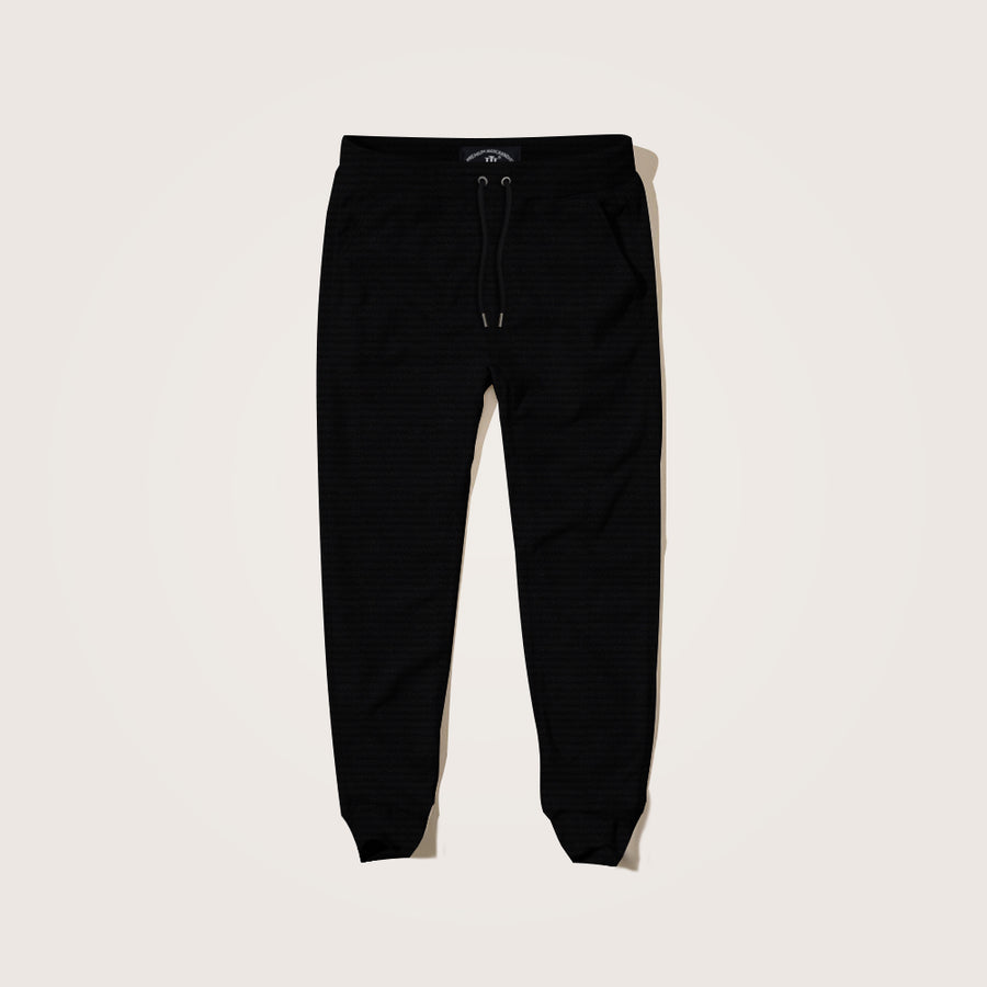 Crosby Birdseye Textured Close bottom Jogging Pant