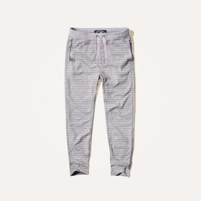 Aston Popcorn Terry Close bottom Paneled Jogger