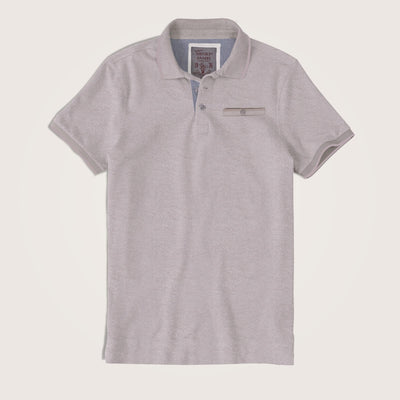 Vicente Summer Special Texture Jersey Pocket Polo Shirt - Klashcollection.com