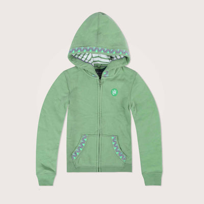 Mintano Super soft Zipper hoodie with Printing at Back