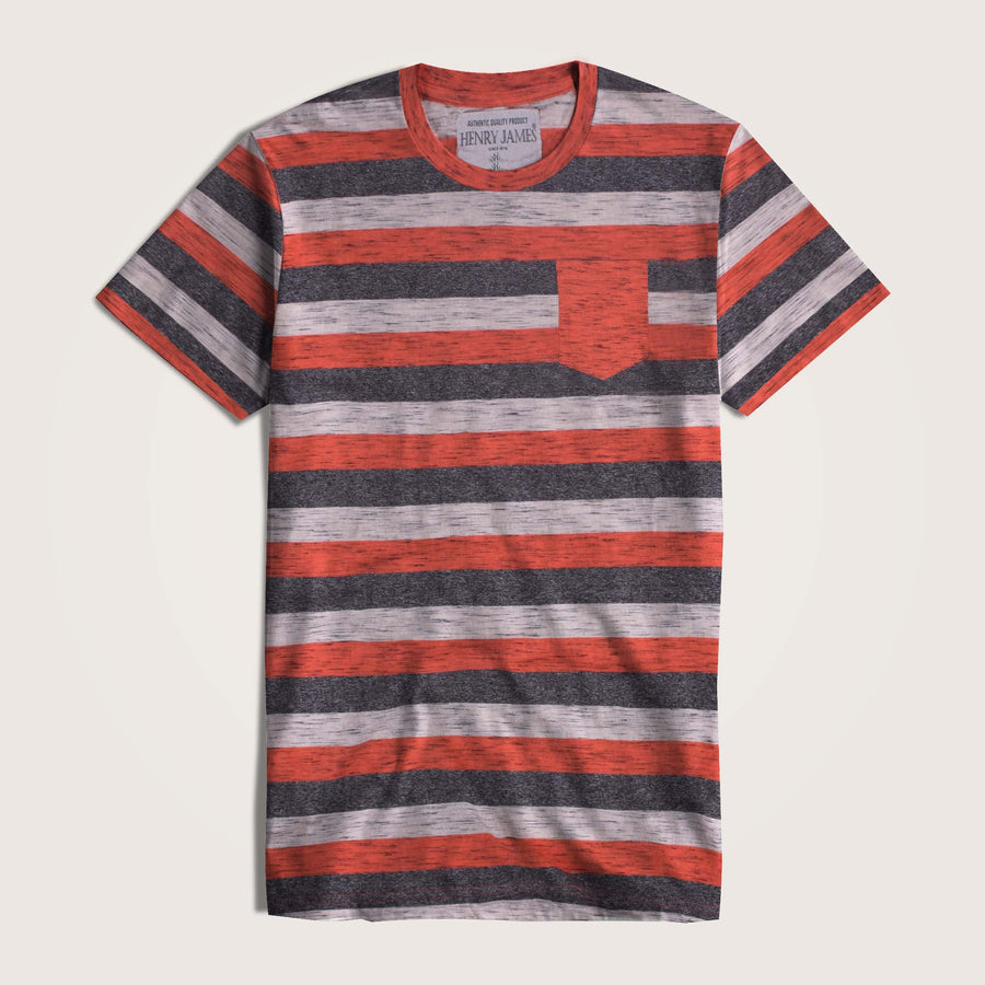 Sebastian Auto Striped Short Sleeve T-Shirt