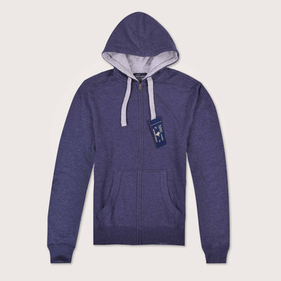Mistick Thermal Lined Zip Through Hoodie - Klashcollection.com