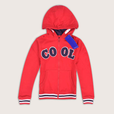 Concordia Cool Embellished Zip Through Hoodie - Klashcollection.com