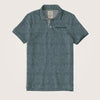 Jorge Tipped Collar Textured Pocket Polo Shirt - Klashcollection.com