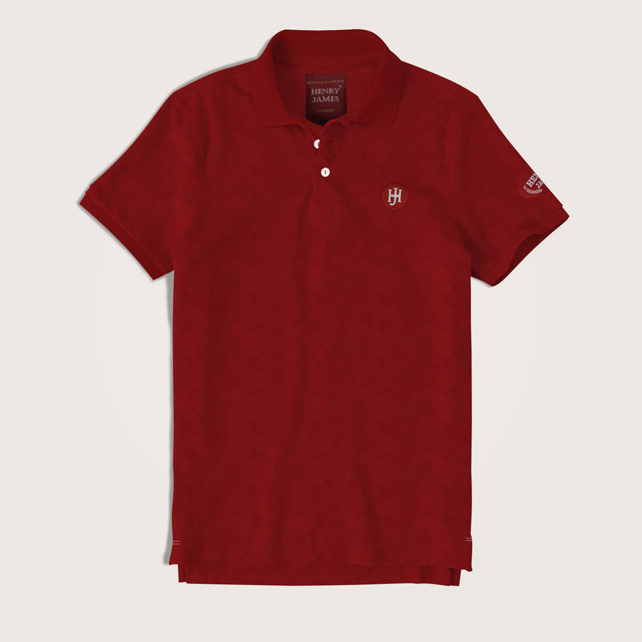 Alonso Short Sleeves Signature Pique Polo Shirt
