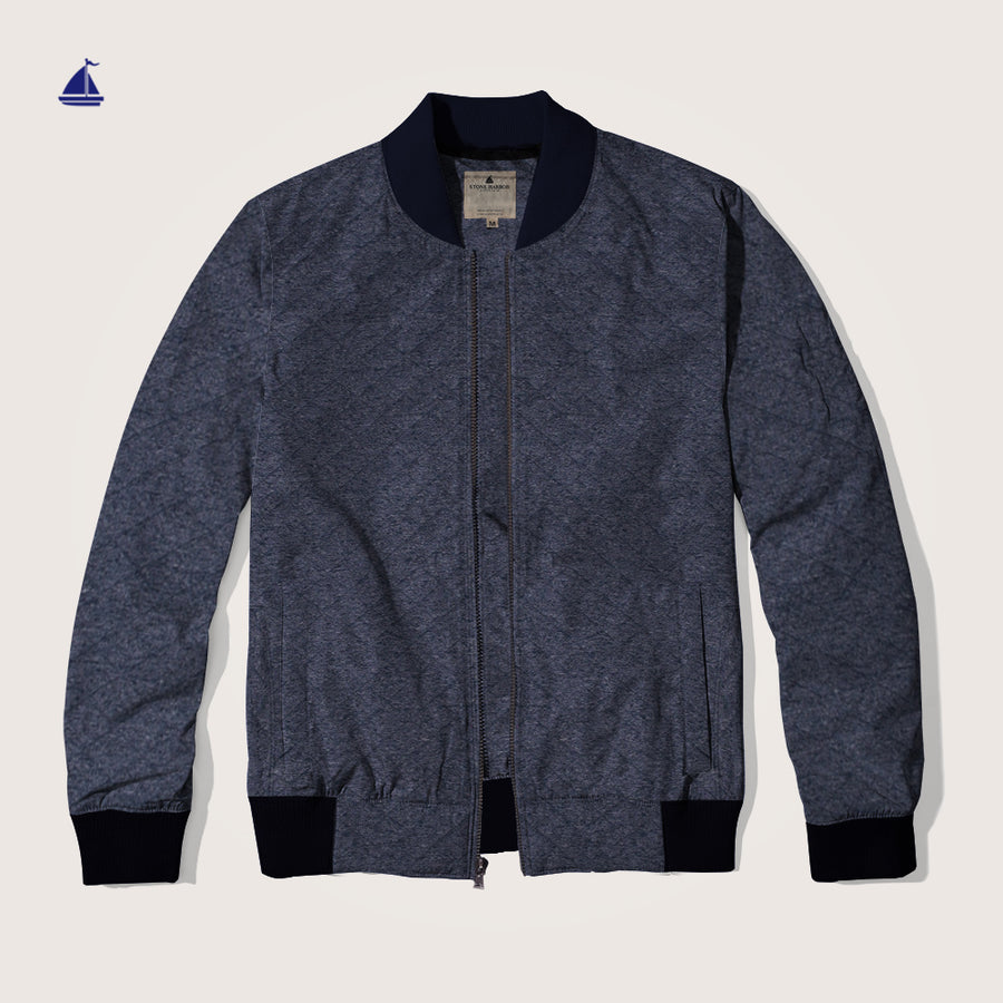Stone Harbor Rilay Ringer Bomber Jacket
