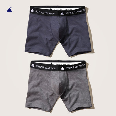 Stone Harbor 2 Pack Bruno Boxer Shorts - Klashcollection.com
