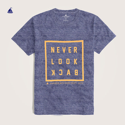 "Stone Harbor "" Never"" Crew Neck Graphic T-Shirt - Klashcollection.com"