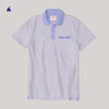 Stone Harbor Short Sleeves Angro Chambray Collar Polo Shirt - Klashcollection.com