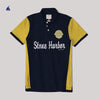 Stone Harbor Laird Contrast Panel Embellished Polo Shirt