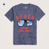 Stone Harbor Crew Neck Beach Patrol Graphic Tee Shirt - Klashcollection.com