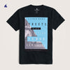 Stone Harbor Streets Rise Graphic Tee Shirt - Klashcollection.com