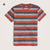 Stone Harbor Textured Striped Short Sleeves Tee Shirt
