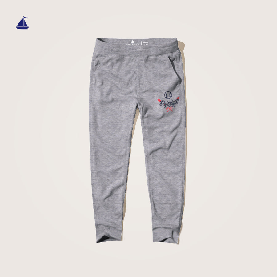 Stone Harbor League Slim Fit Graphic Jersey Trousers