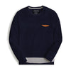Miguel Long Sleeve Double Impact Paneled Tee Shirt - Klashcollection.com