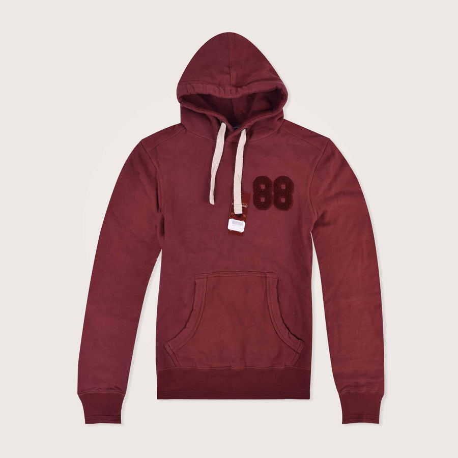 Ghothic 88 Embellished Pullover Hoodie - Klashcollection.com