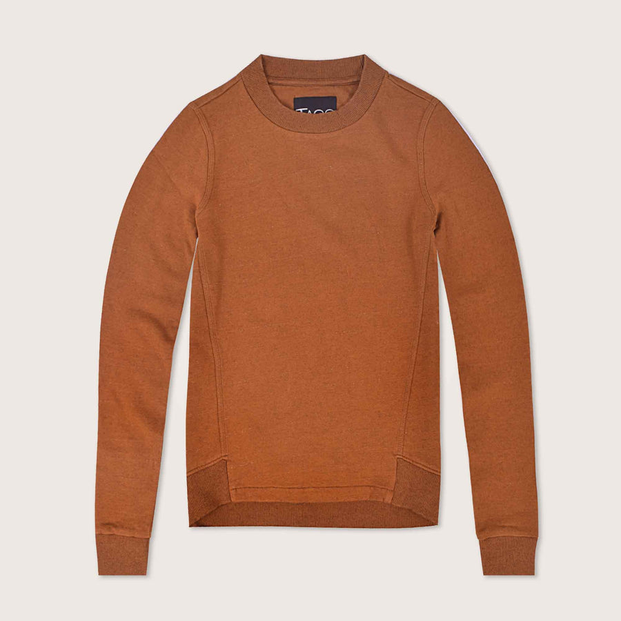 Isabella Tapered Crew neck Sweatshirt - Klashcollection.com
