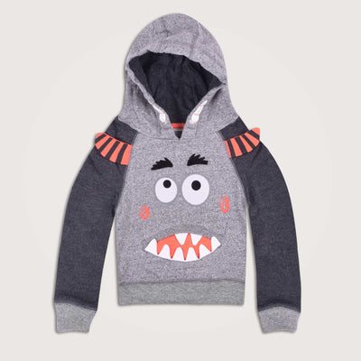 Monster Raglan Sleeves Hoodie - Klashcollection.com