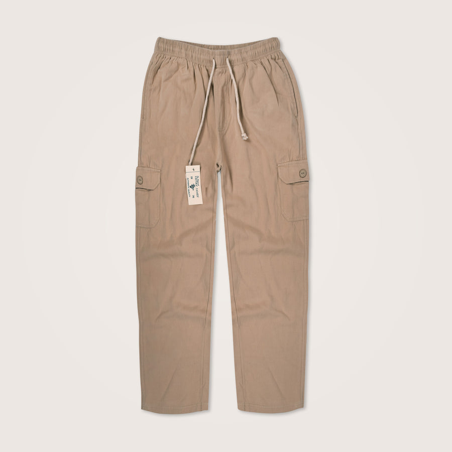 Twill Cotton Suhas Cargo Trouser