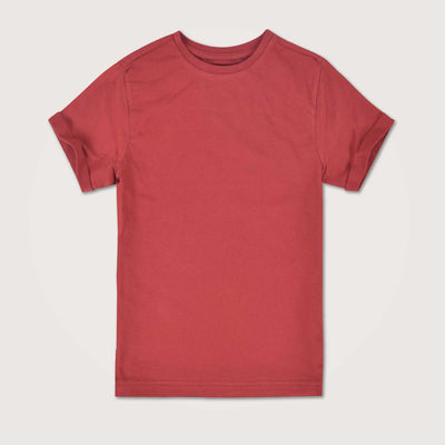 Leonardo Rolled Short Sleeve Basic Tee Shirt - Klashcollection.com