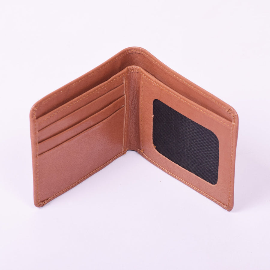 Stone Harbor Caramel Mens Leather Wallet