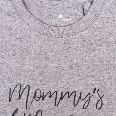 "Stone Harbor Textured Graphic ""Mummy's little Man"" Tee Shirt - Klashcollection.com"