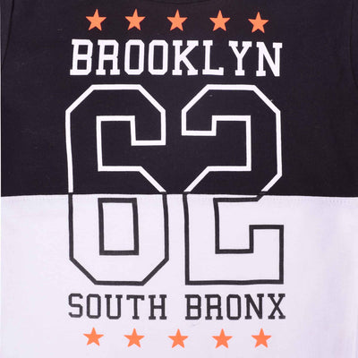 South Bronx Double Sleeve Graphic Tee Shirt - Klashcollection.com