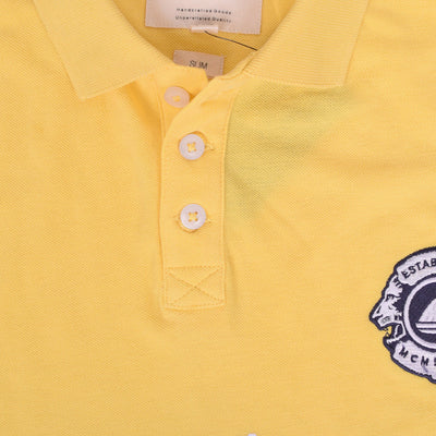 Stone Harbor Crispin Contrast Panel Embellished Polo Shirt