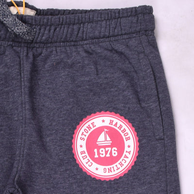Stone Harbor Unisex Slim fit open bottom Graphic sweatpants