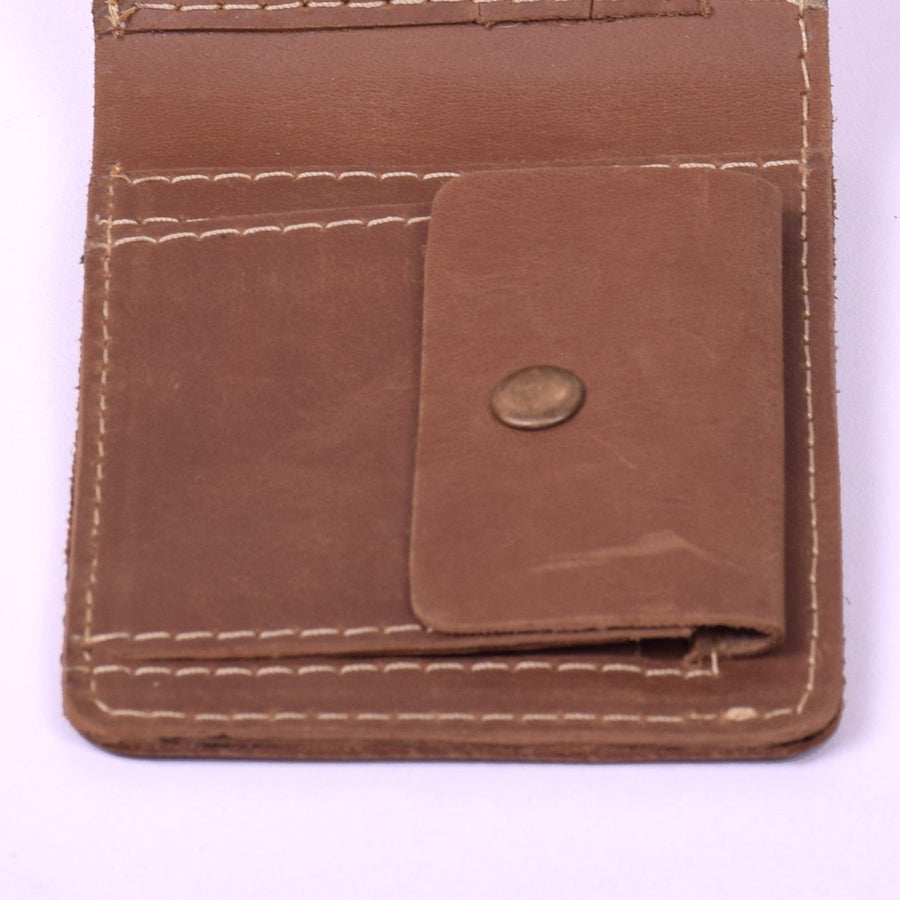 STONE HARBOR VACKET MENS LEATHER WALLET
