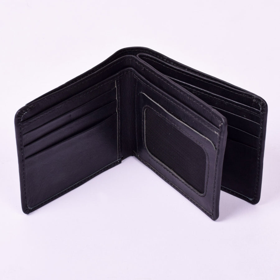 Stone Harbor Black Bogs Mens Leather Wallet