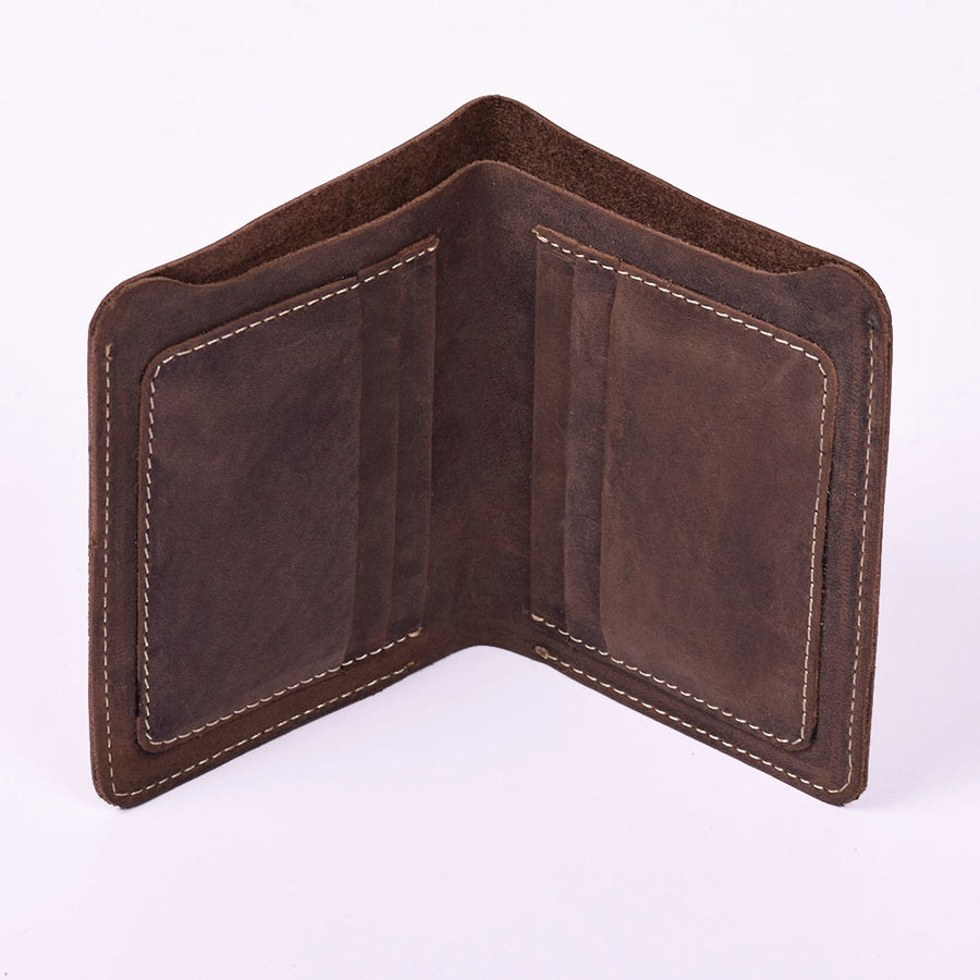 STONE HARBOR Crackle MENS LEATHER WALLET