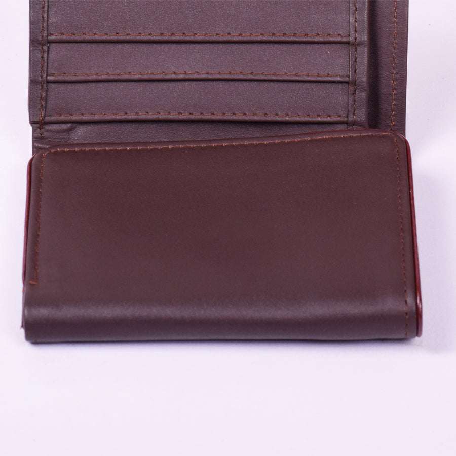 STONE HARBOR HOLID Brown MENS LEATHER WALLET