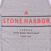 Stone Harbor Emmanuel Signature Graphic Gym Vest - Klashcollection.com