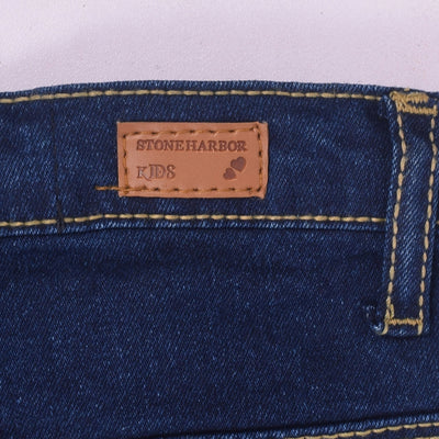 Skinny fit Embroidered  Papallona Stretch Denim - Crossconnections.com.pk