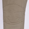 Z.M Khaki Slim Fit Knee Patch Cotton Stretch pants
