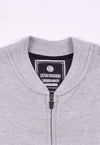 cotton sensations Men's Hoodies Men's Cotton Sensations Grey Mock Neck Zipper