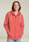 cotton sensations Women Hoodie Carrot / S-10 Women's Cotton Sensations Carrot Zipper Hoodie