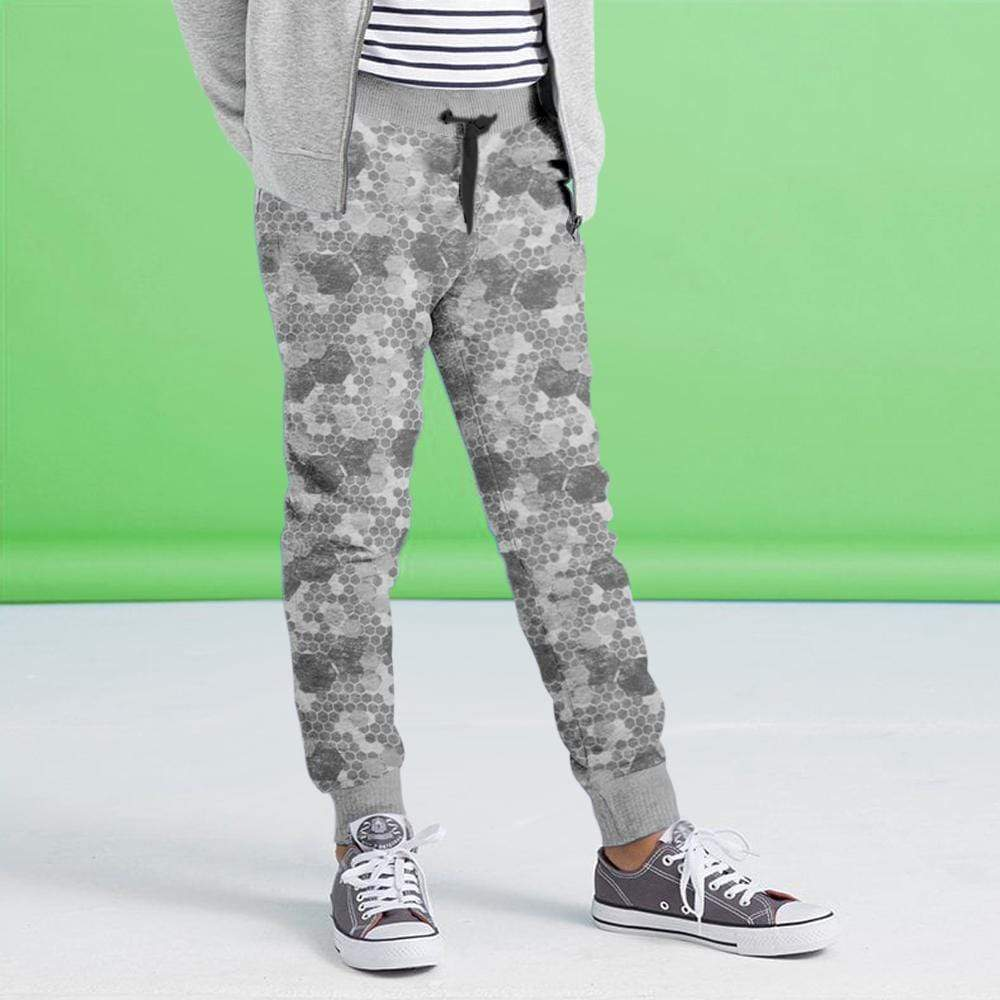 Crossconnections.com.pk Kid's Jogger Dark Grey / 2-3 Years Boy's STONE HARBOR Lotis ALLOVER PRINTED JOGGER